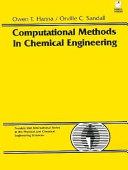 Computational Methods in Chemical Engineering