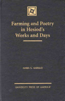 Farming and Poetry in Hesiod s Works and Days