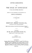 The whole works of     Jeremy Taylor  with a life of the author and a critical examination of his writings by R  Heber  revised and corrected by C P  Eden Book PDF