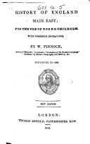 History of England made easy      continued to 1839  New edition