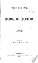 The Maine Journal of Education