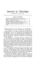 Journal of Mycology
