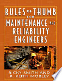 Rules of Thumb for Maintenance and Reliability Engineers Book
