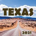 Texas 2021 Mini Wall Calendar