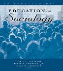 Education and Sociology [Pdf/ePub] eBook