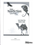 15333 TFK  NonFiction Readers Early Fluent Plus Teacher s Resource Guide