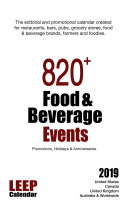 820  Food   Beverage Events for 2019