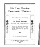 The New American Encyclopedic Dictionary Book PDF