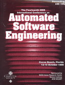 The 14th IEEE International Conference on Automated Software Engineering
