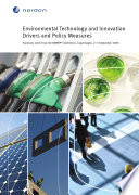 Environmental Technology and Innovation Drivers and Policy Measures Book