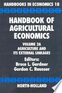 Handbook of Agricultural Economics Book