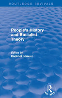 People's History and Socialist Theory (Routledge Revivals) Pdf/ePub eBook
