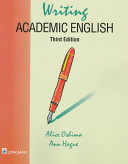 Cover of Writing Academic English