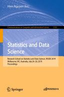 Statistics and Data Science
