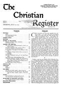 Christian Register Book