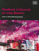 Handbook of Research on Asian Business Book