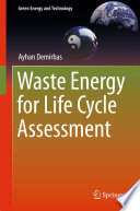 Waste Energy for Life Cycle Assessment
