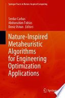 Nature Inspired Metaheuristic Algorithms for Engineering Optimization Applications Book