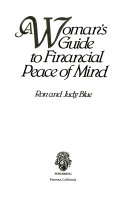 A Woman s Guide to Financial Peace of Mind