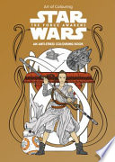 Star Wars Art of Colouring the Force Awakens