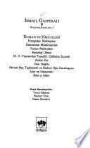 İsmail Gaspıralı: Roman ve hikâyeleri