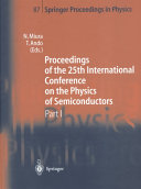 Proceedings of the 25th International Conference on the Physics of Semiconductors