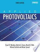 Applied Photovoltaics Book PDF