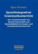 Sprachintegrativer Grammatikunterricht