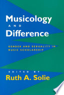 Musicology and Difference