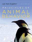 Principles of Animal Behavior  Third Edition