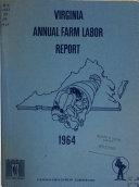Virginia Annual Farm Labor Report Book