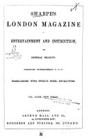 Sharpe S London Magazine Of Entertainment And Instruction For General Reading