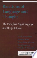 Relations Of Language And Thought PDF