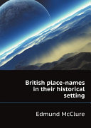 British place-names in their historical setting