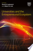 Universities and the Entrepreneurial Ecosystem
