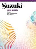 Suzuki Viola School   Volume 6  Revised