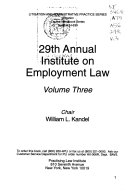 Annual Institute on Equal Employment Opportunity Compliance