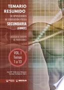 Temario Resumido de Oposiciones de Educación Física Secundaria (LOMCE) Volumen I