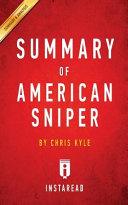 SUMMARY OF AMERICAN SNIPER ebook