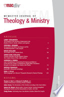 McMaster Journal of Theology and Ministry  Volume 9