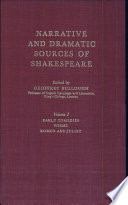 Narrative and Dramatic Sources of Shakespeare