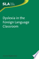 """Dyslexia in the Foreign Language Classroom"" by Joanna Nijakowska"