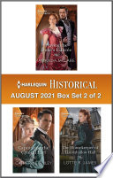 Harlequin Historical August 2021 - Box Set 2 of 2