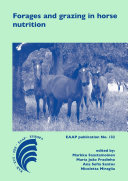 Pdf Forages and grazing in horse nutrition