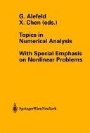 Topics in Numerical Analysis