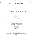 Little Gems from the Children s Hour