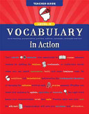 Vocabulary in Action Level H Teacher Guide