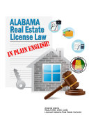 Alabama Real Estate License Law in Plain English