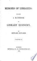 Memoirs of Libraries