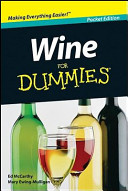 Wine for Dummies  Australian Target Edition Book